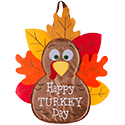 """Happy Turkey Day"" Door Hanger"
