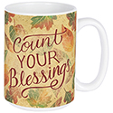 """Count Your Blessings"" Boxed Mug"