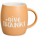 """Give Thanks"" Etched Cup"