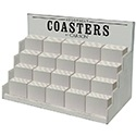 Counter Top Bulk Coaster Display